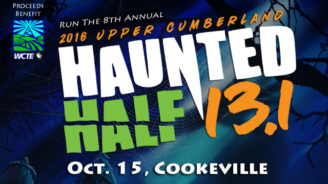 2016 Upper Cumberland Haunted Half Marathon benefiting WCTE.