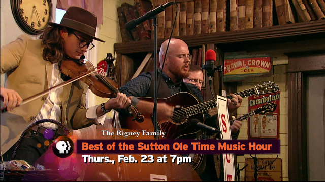 Best of the Sutton Ole Time Music Hour - Thu., Feb. 23 at 7 p.m.