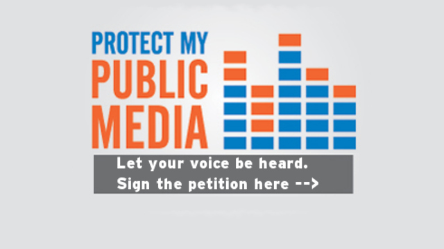 Sign this petition urging Congress to continue the essential funding for public media and your local station - WCTE.