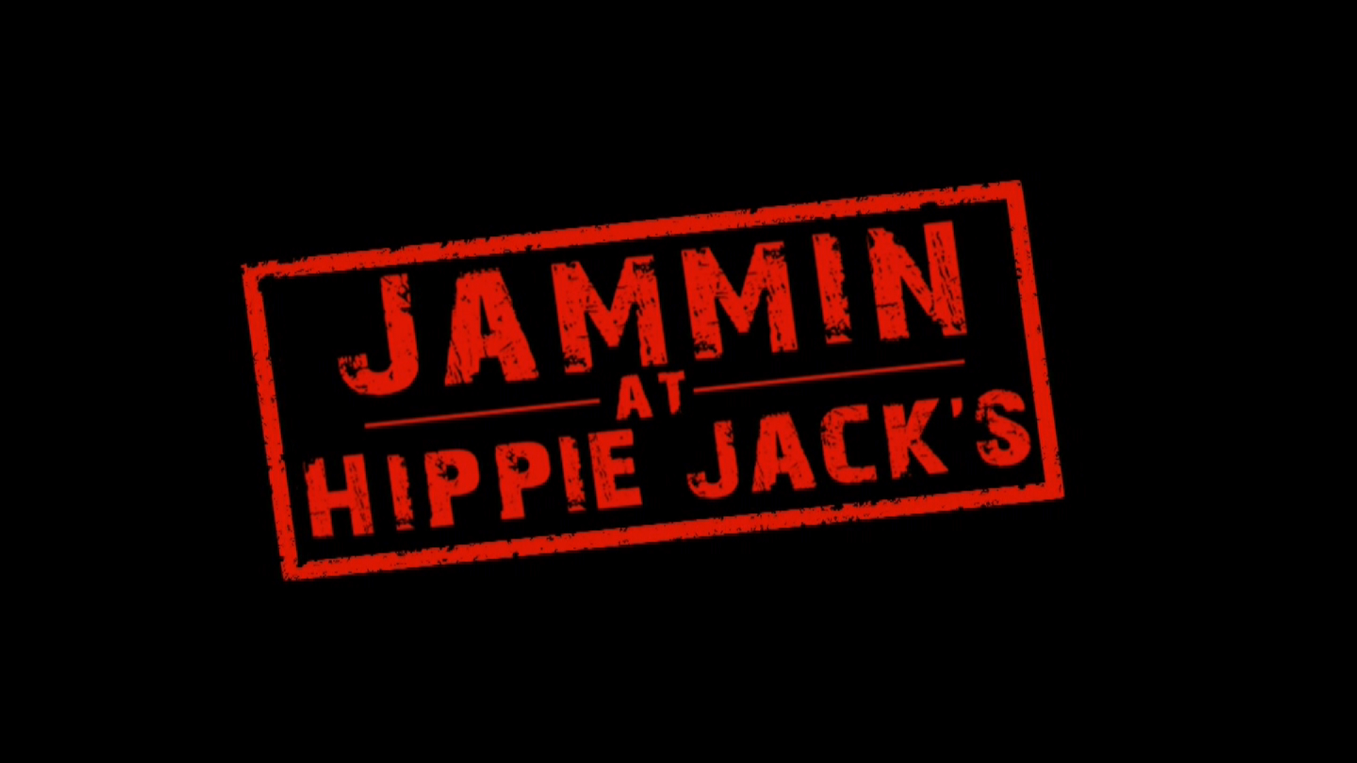 Jammin at Hippie Jack's