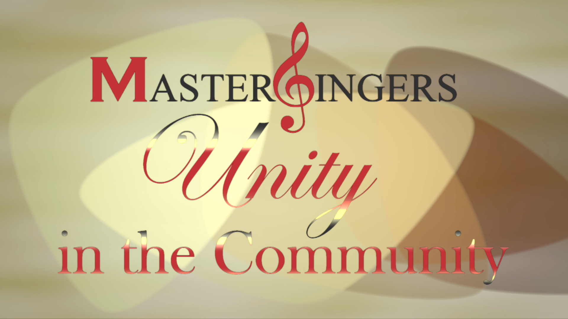 Mastersingers: Unity in the Community concert
