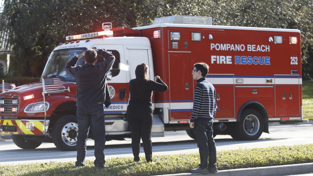 Shooting at Marjory Stoneman Douglas High Leaves At Least 17 Dead