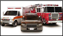 First Responders vehicles