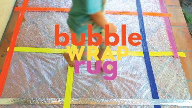 Bubble Wrap Rug