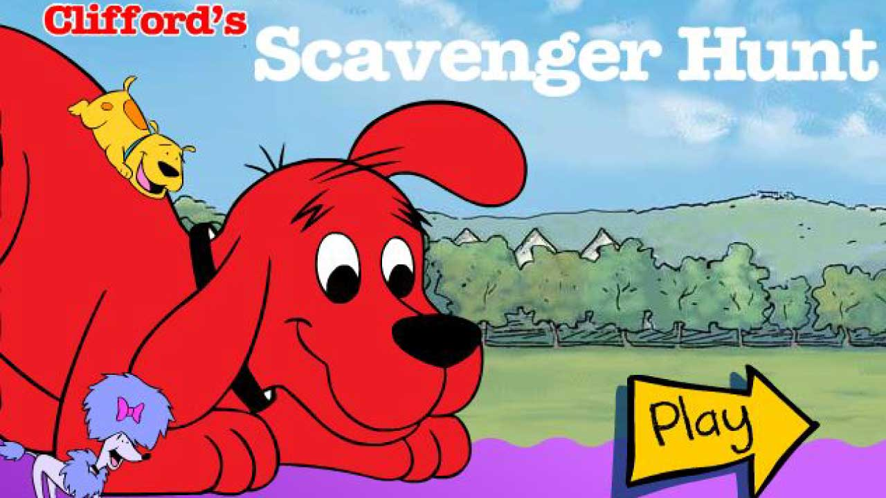 Clifford's Scavenger Hunt