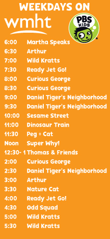 Kids TV Schedule