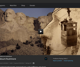 Watch American Experience: Mount Rushmore