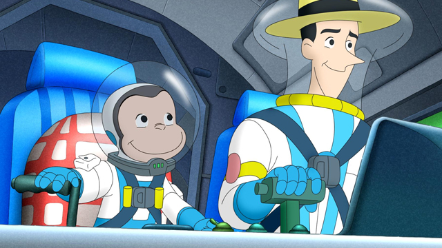 Curious George Goes to Mars