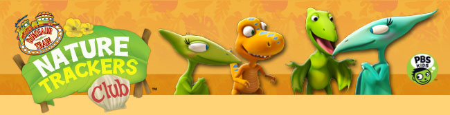 Dinosaur Train Nature Trackers Club