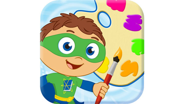 Super Why! Paint