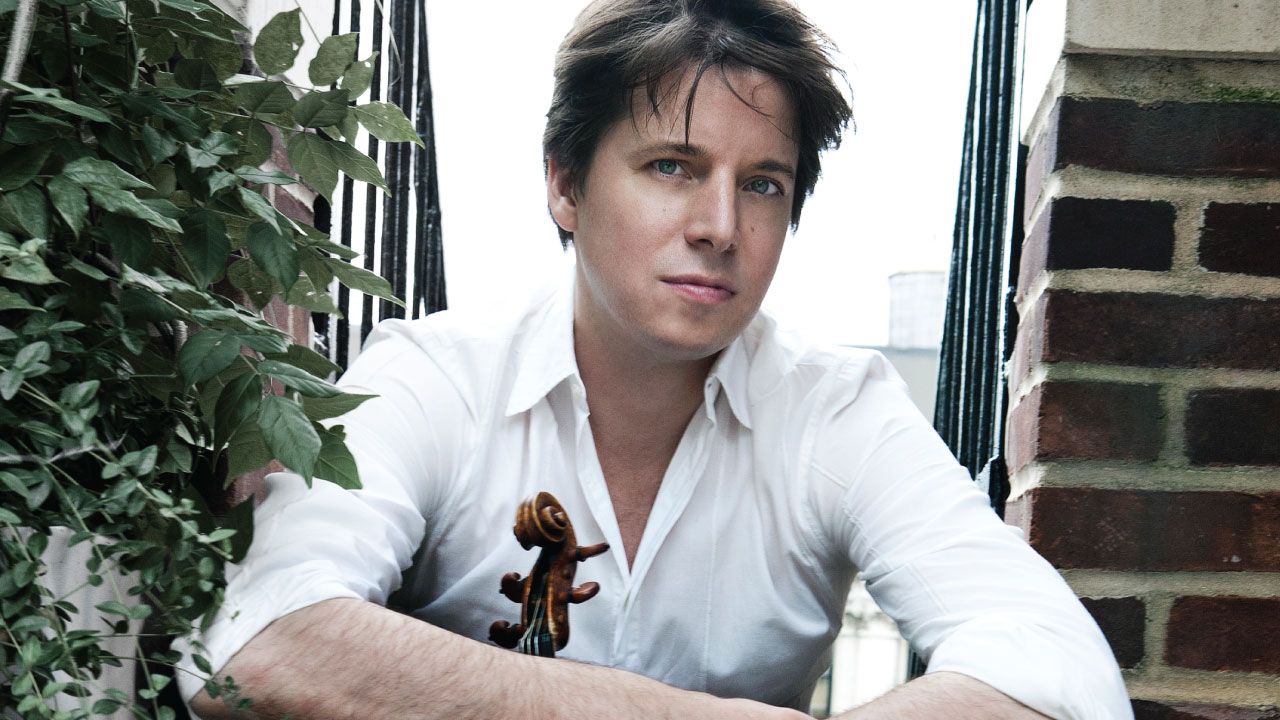 Joshua Bell on his new recording 'For the Love of Brahms'