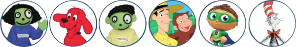 PBS Kids characters