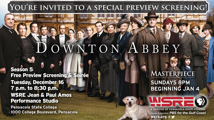 "Free ""Downton Abbey"" Season 5 preview screening (1st hour)"