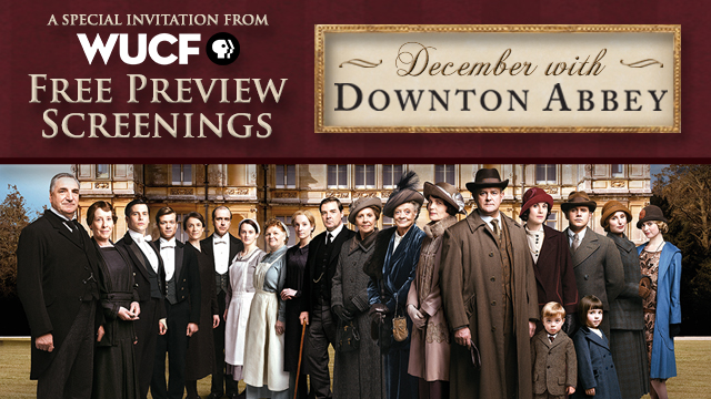 Join WUCF TV for a screening of the brand new season of Downton Abbey!