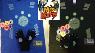 Wild Kratts Costume!