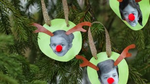 Family Reindeer Ornaments