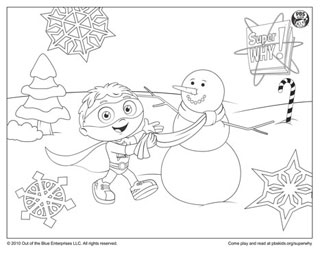Coloring Page!