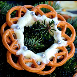 Pretzel Ornaments