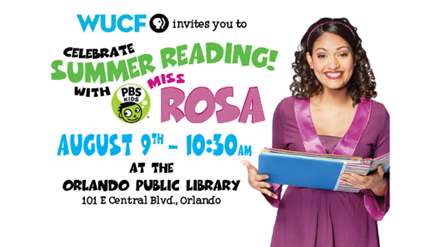 Celebrate Summer Reading with Miss Rosa!