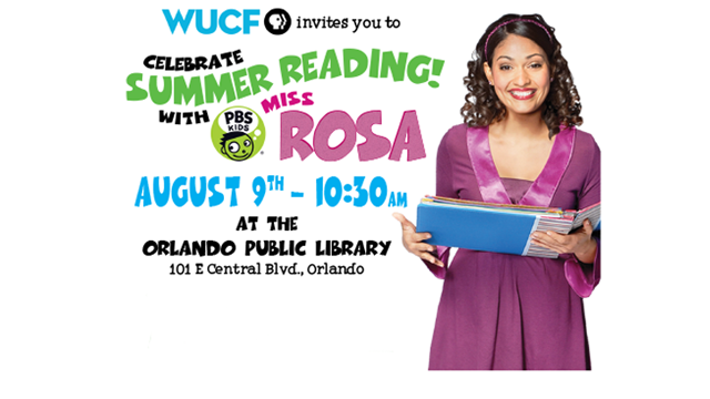 WUCF TV's Book Bunch Featuring Miss Rosa!