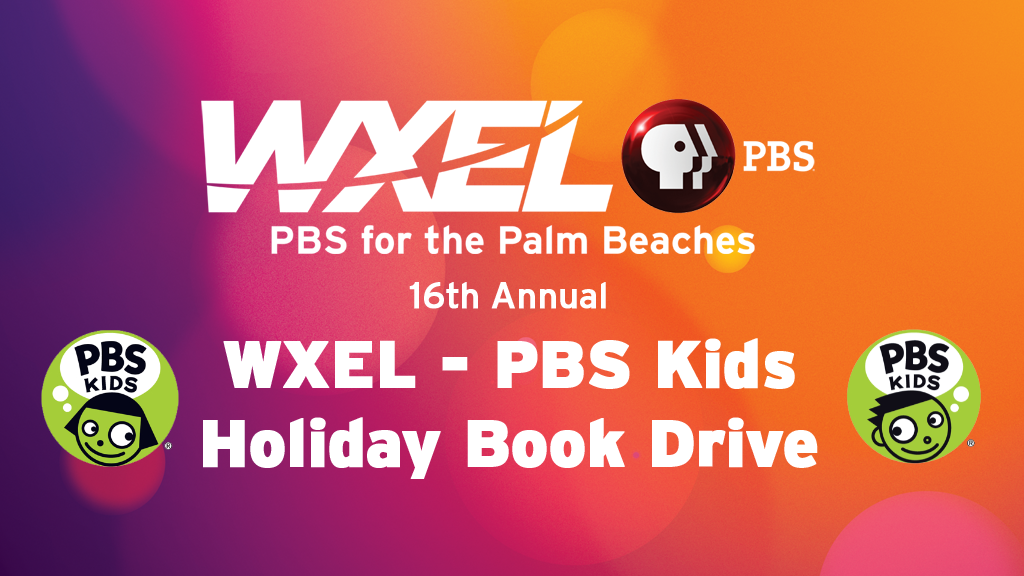 WXEL HOLIDAY BOOK DRIVE