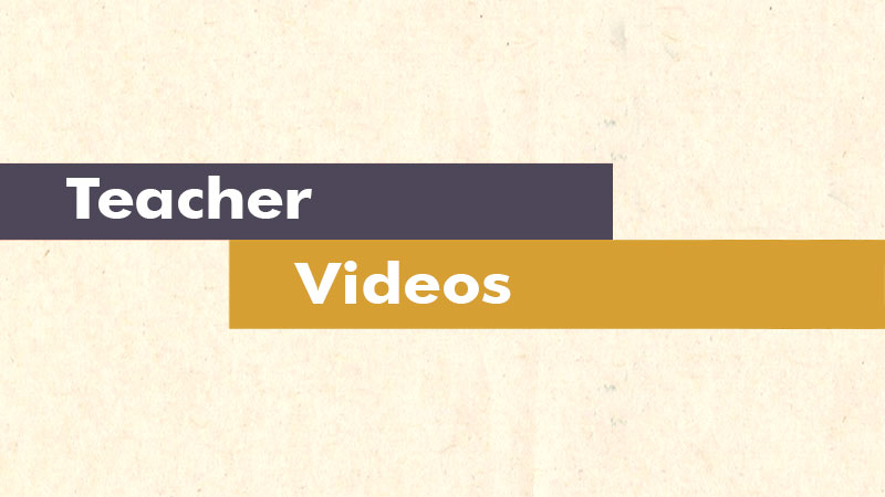 Videos for Teachers