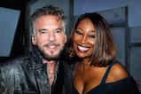 Kenny Loggins and Yolanda Adams pose for a photo backstage during <em>A Capitol Fourth</em> concert at the U.S. Capitol, West Lawn, on July 4, 2016 in Washington, DC.