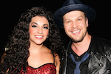 Ana Villafañe and Gavin DeGraw pose for a photo backstage during <em>A Capitol Fourth</em> concert at the U.S. Capitol, West Lawn, on July 4, 2016 in Washington, DC.