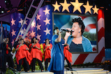 Amber Riley performs at <em>A Capitol Fourth</em> concert at the U.S. Capitol, West Lawn, on July 4, 2016 in Washington, DC.