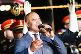 Actor Christopher Jackson performs at <em>A Capitol Fourth</em> concert at the U.S. Capitol, West Lawn, on July 4, 2016 in Washington, DC.