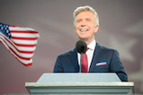 Show host Tom Bergeron during the <em>A Capitol Fourth</em> concert at the U.S. Capitol, West Lawn, on July 4, 2016 in Washington, DC.