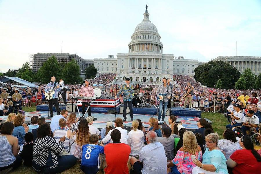 The Beach Boys perform at <em>A Capitol Fourth</em> at U.S. Capitol, West Lawn on July 4, 2017 in Washington, DC. (Photo by Paul Morigi/Getty Images for Capital Concerts)
