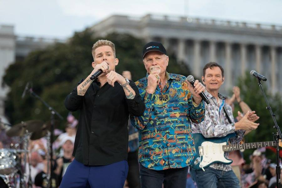Mark McGrath of Sugar Ray performs The Beach Boys at <em>A Capitol Fourth</em> at U.S. Capitol, West Lawn on July 4, 2017 in Washington, DC.