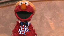 Watch Elmo from Sesame Street sing Happy Birthday to America!
