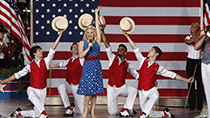 A July Fourth performance by broadway and television star Megan Hilty.