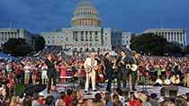 Steve Martin and the Steep Canyon Rangers perform a remarkable set of bluegrass tunes (2012).