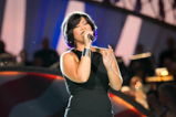 "The Voice winner Tessanne Chin pays tribute to wounded veterans on the 2015 National Memorial Day Concert with a performance of ""I Will Always Love You."""