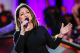 "Music legend Gloria Estefan perfoms ""Coming out of the Dark"" on the 2015 National Memorial Day Concert."