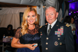 Katherine Jenkins and General Martin Dempsey backstage during the 2015 National Memorial Day Concert.