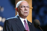 General Colin Powell, USA (Ret.), onstage at the 27th <em>National Memorial Day Concert</em>.