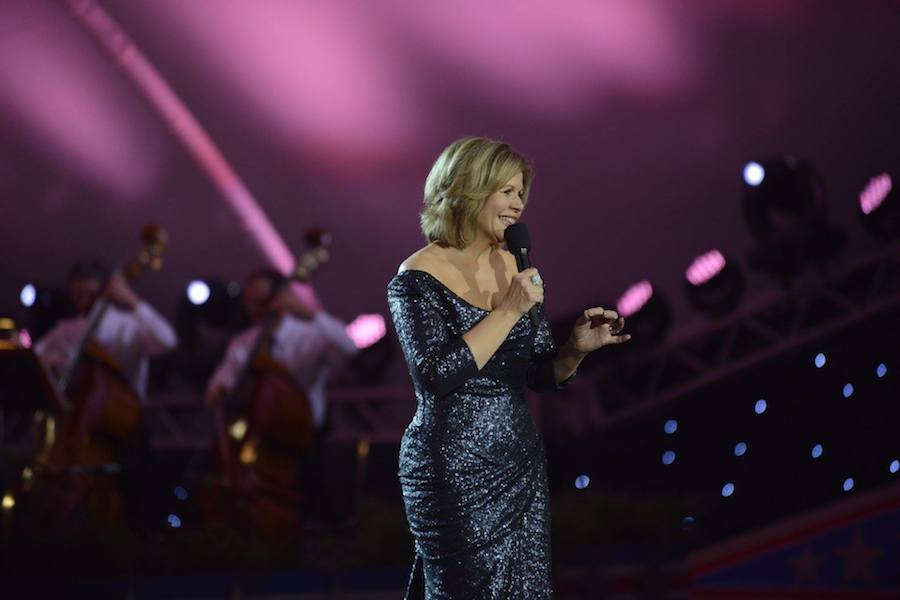 Grammy Award-winning classical music artist Renee Fleming performs at PBS' 2017 <em>National Memorial Day Concert</em> at U.S. Capitol, West Lawn on May 28, 2017 in Washington, DC.