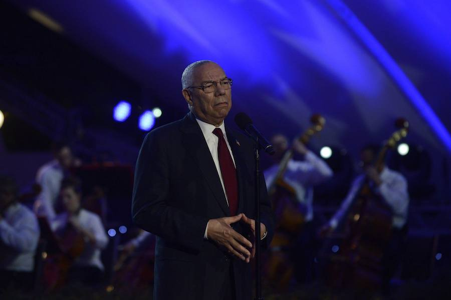 Gen. Colin Powell (Ret.) at PBS' 2017 <em>National Memorial Day Concert</em> at U.S. Capitol, West Lawn on May 28, 2017 in Washington, DC.