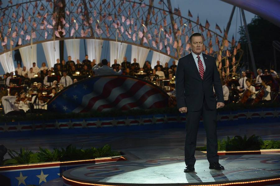 Actor Robert Patrick performs at PBS' 2017 <em>National Memorial Day Concert</em> at U.S. Capitol, West Lawn on May 28, 2017 in Washington, DC.