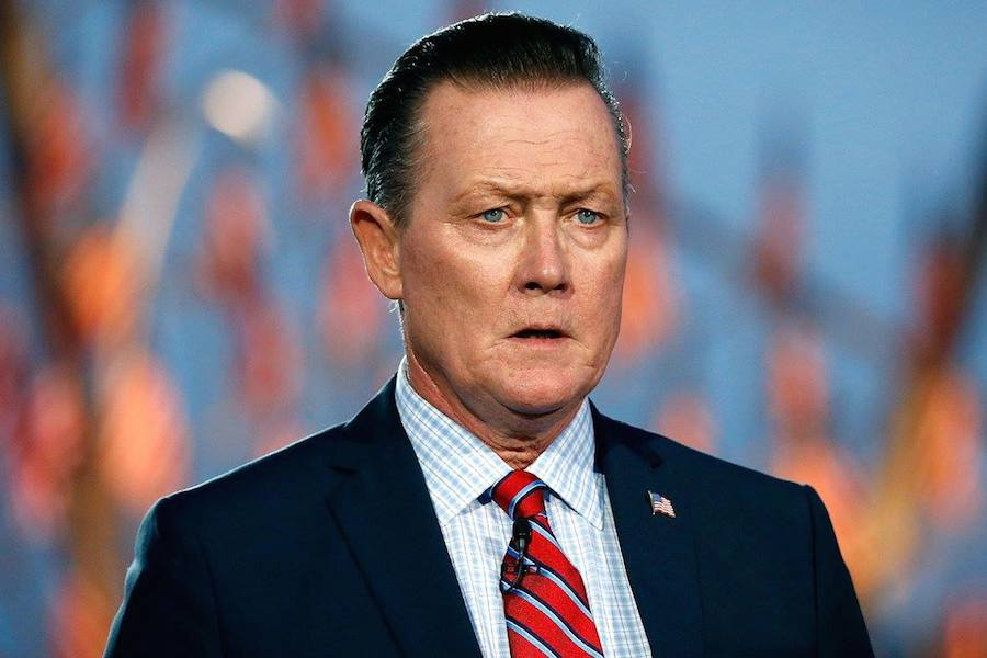 Actor Robert Patrick performs at PBS' 2017 <em>National Memorial Day Concert</em> at U.S. Capitol, West Lawn on May 28, 2017 in Washington, DC. (Photo by Paul Morigi/Getty Images for Capital Concerts)
