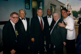 James Earl Jones, Gen. Colin L. Powell, Ossie Davis, Charles Durning and Tony Danza at the 1997 <i>National Memorial Day Concert</i>.