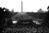 This photo is from one of the first productions of Capital Concerts on the West Lawn  of the U.S. Capitol.