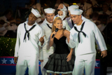 Kristen Chenoweth performs World War I and II standards on the 2001 <i>National Memorial Day Concert</i>.
