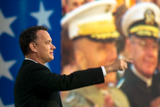 Tom Hanks pays tribute to World War II veterans on the 2004 <i>National Memorial Day Concert<i/>.