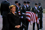 Actress Dianne Wiest shares the story of a mother whose son was killed while serving in the National Guard in Iraq.