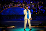 On the 2004 <i>National Memorial Day Concert</i>, Brian Stokes Mitchell performs a tribute to wounded warriors.